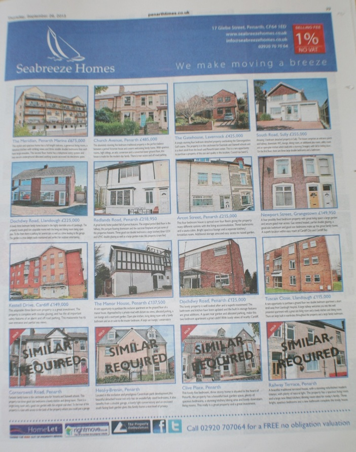 See all our latest properties in this weeks Penarth Times