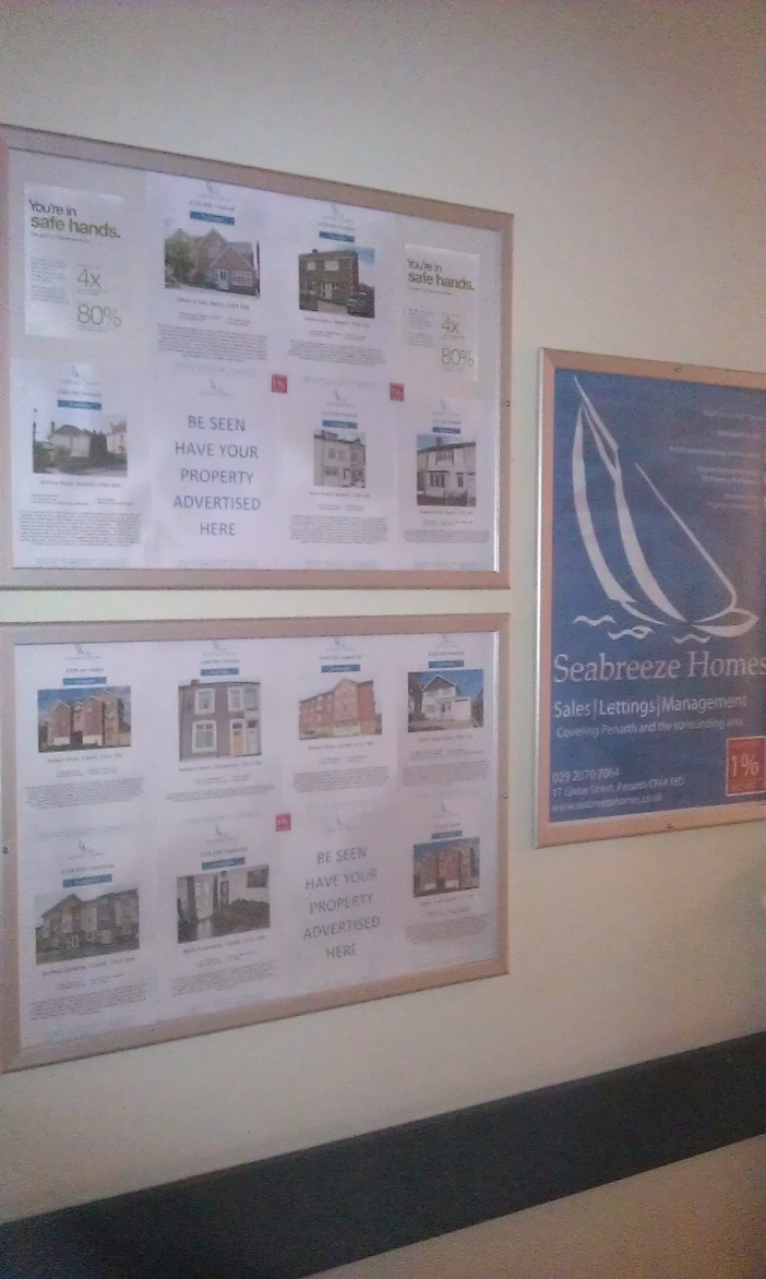 Hot new properties advertised exclusively by seabreeze homes at llandough hospital