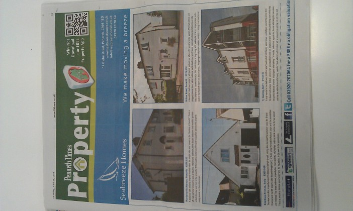 Have a look at this week's Penarth Times.